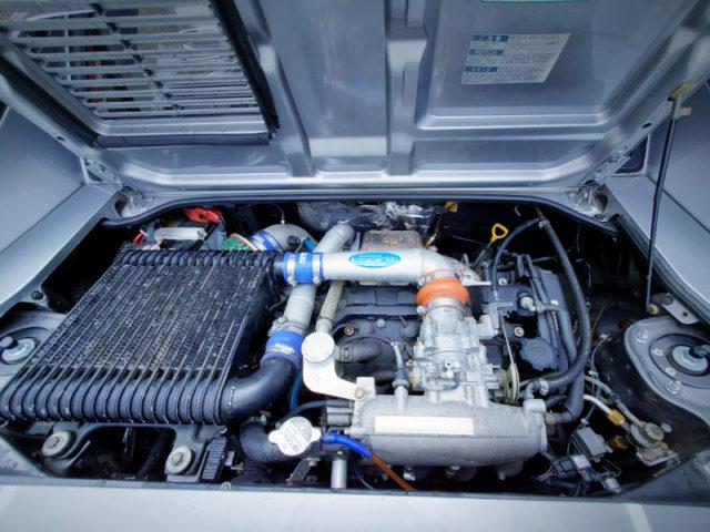 3S-GTE 2000cc TURBO ENGINE.