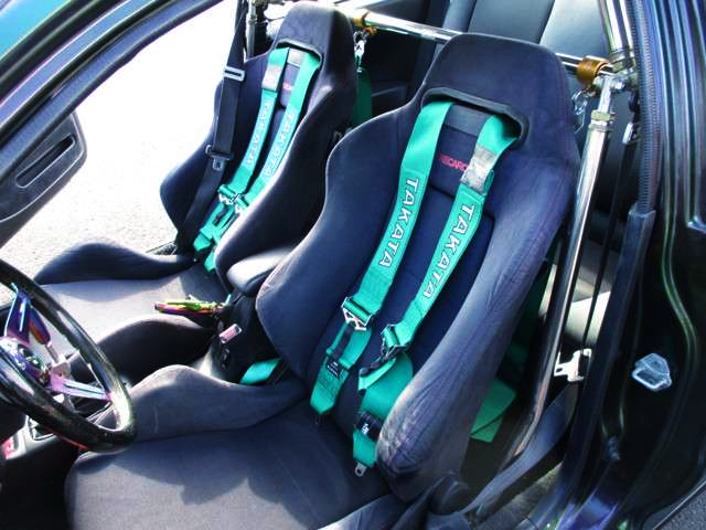 RECARO SEMI BUCKET SEATS.
