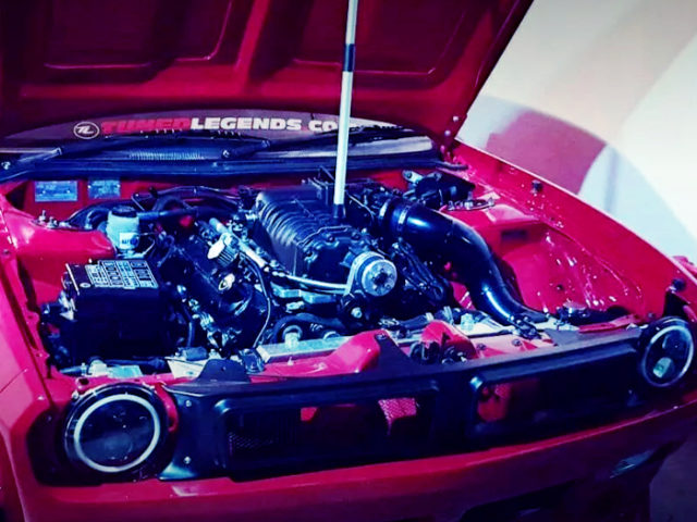 LS1 SUPERCHARGED.
