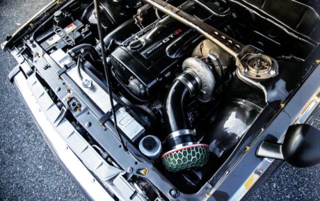 RB26 TO4Z SINGLE TURBO ENGINE.