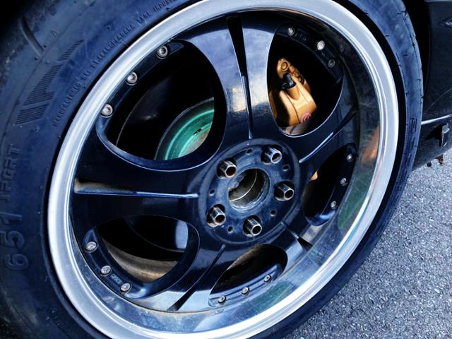 R34 GT-R Brembo CALIPER CONVERSION.