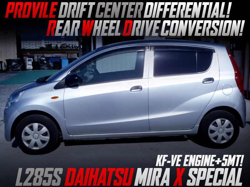 PROVILE DRIFT CENTER DIFF INSTALLED TO L285S MIRA X SPECIAL.
