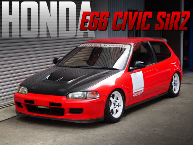 TRACK RACE CAR BUILT OF EG6 CIVIC SiR2.