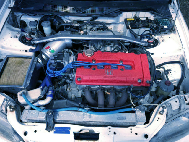B18C VTEC ENGINE.