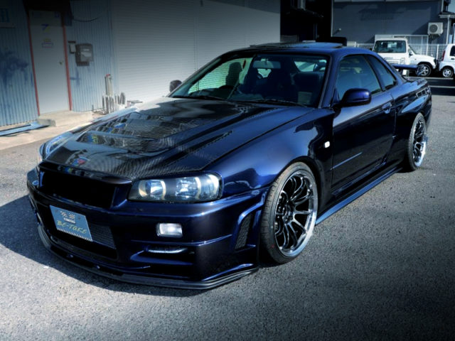 FRONT EXTERIOR OF ER34 SKYLINE TO Z-TUNE STYLE WIDEBODY.