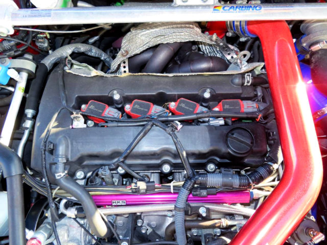 4B11T With HKS GT3 TURBOCHARGER.