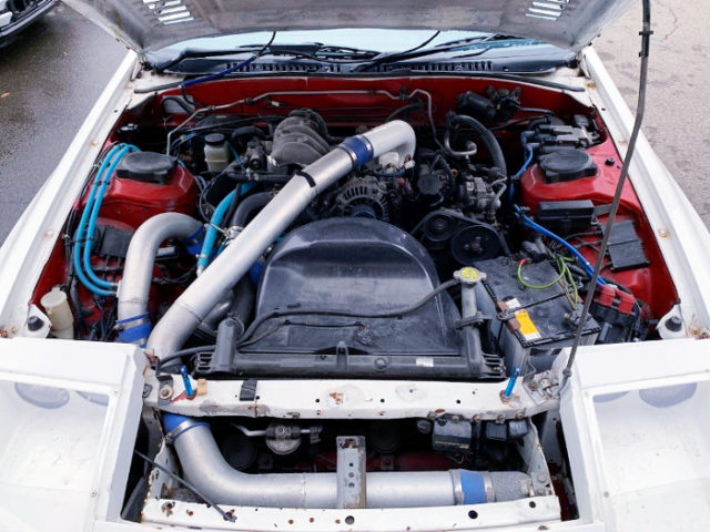 13B-T SIDE-PORT With TO4S TURBOCHARGER.