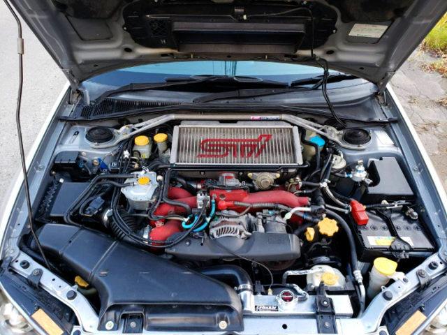 TOMEI EJ20 BOXER ENGINE.