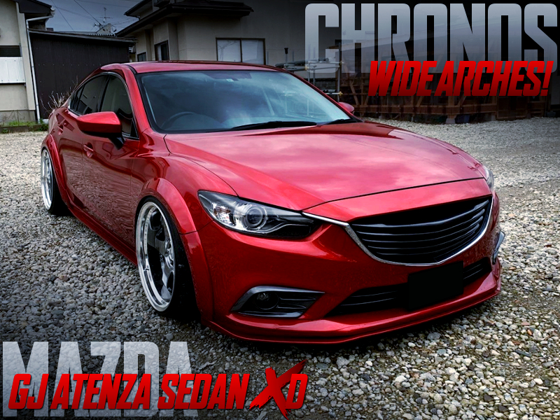 CHRONOS WIDE ARCHES ONTO GJ ATENZA SEDAN XD.