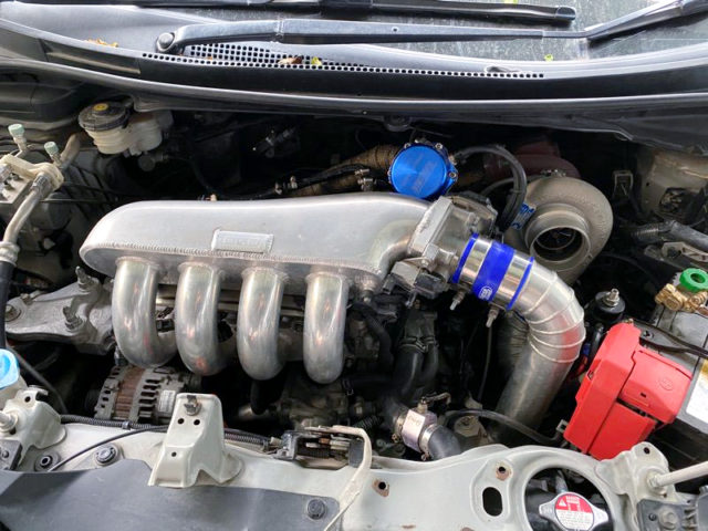 L15A 1500cc i-VTEC TURBO ENGINE.