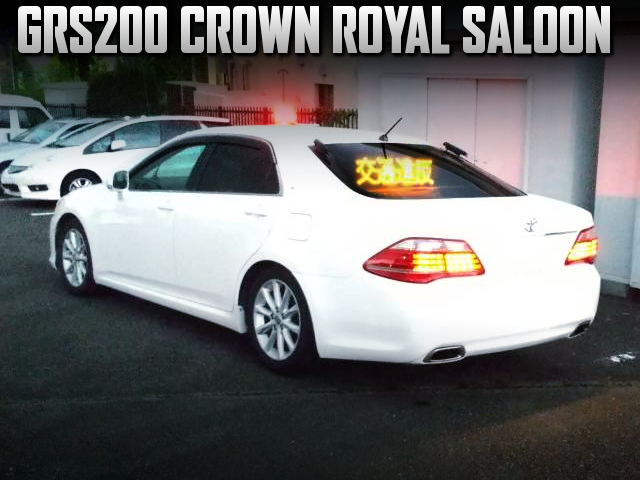 MASKED POLICE CAR REPLICA OF GRS200 CROWN.