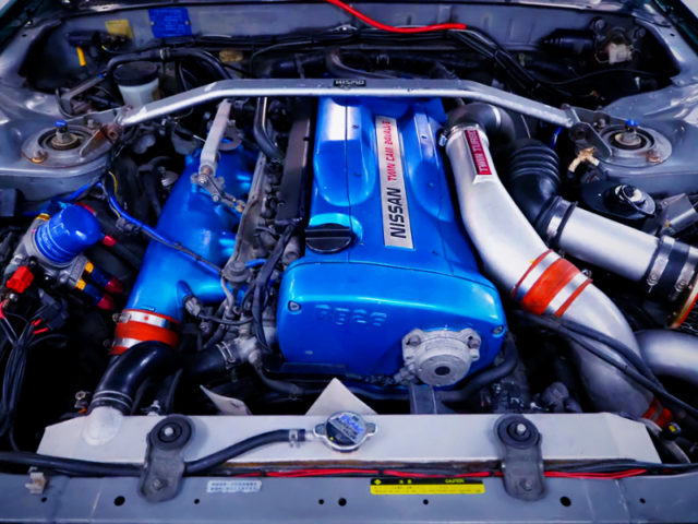 RB26 GT-SS TWIN TURBO ENGINE.