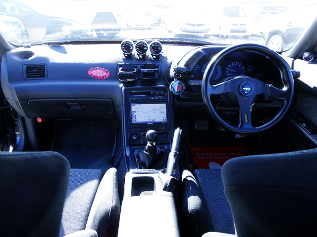 HNR32 SKYLINE DASHBOARD.