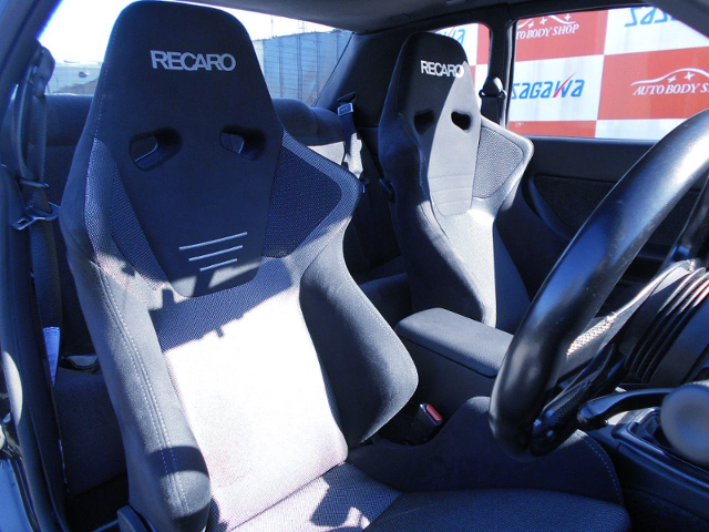 RECARO SR6 SEMI BUCKET SEATS.