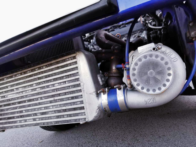 GT3582 TURBO And FRONT MOUNT INTERCOOLER.