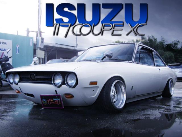 LOWERED ISUZU 117 COUPE XC.