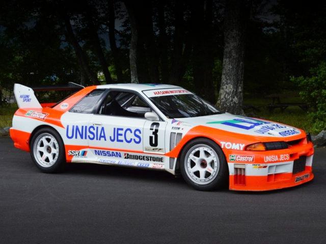 FRONT EXTERIOR OF UNISIA JECS SKYLINE R32 JGTC 1994.