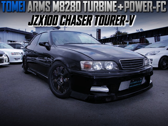TOMEI M8280 TURBO And POWER-FC INTO JZX100 CHASER TOURER-V.