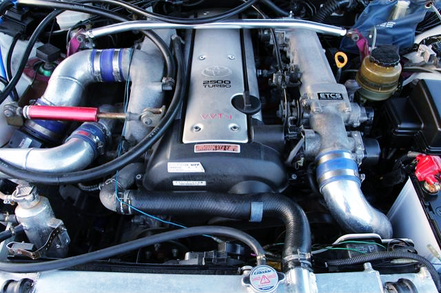 VVTi 1JZ-GTE With TOMEI ARMS M8280 TURBINE.