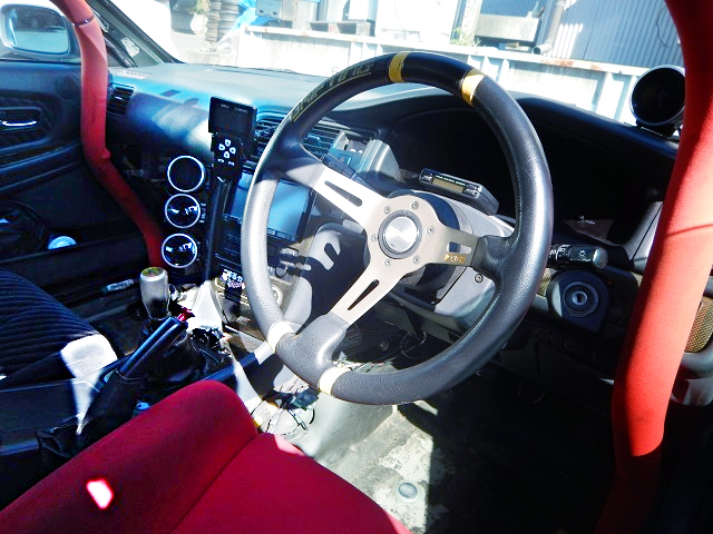INTERIOR OF JZX100 CHASER.