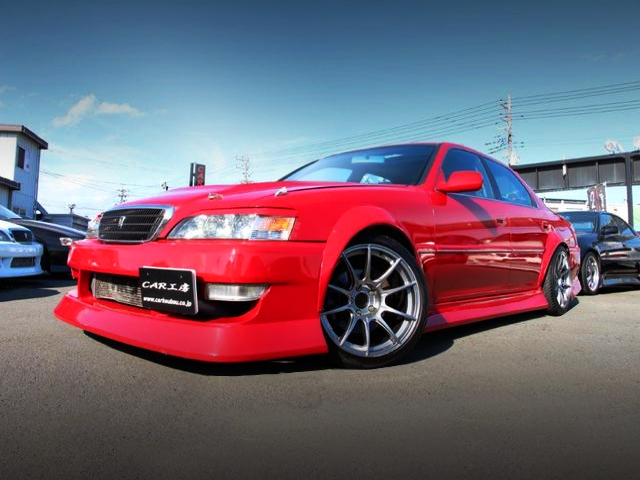 FRONT EXTERIOR OF JZX100 CRESTA ROULANT-S.