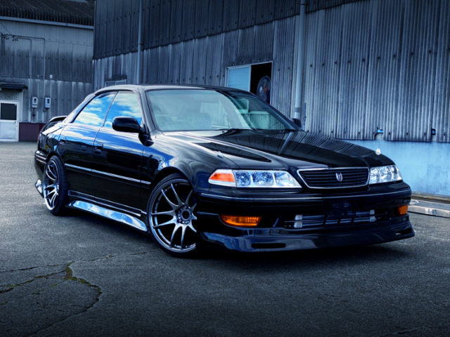 FRONT EXTERIOR OF JZX100 MARK2.