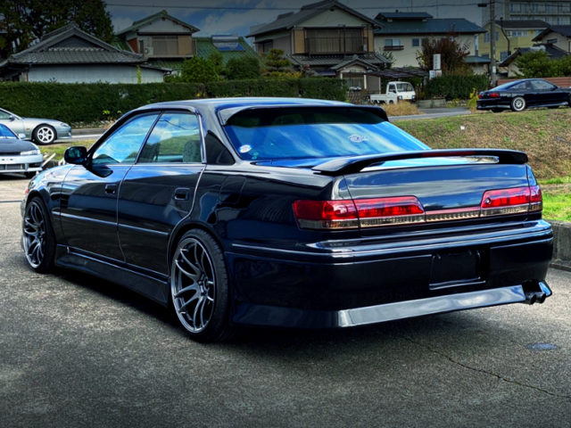 REAR EXTERIOR OF JZX100 MARK2.