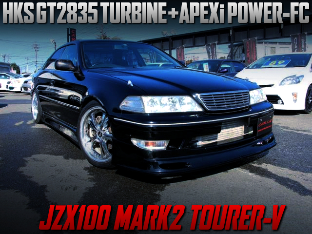 1JZ-GTE With GT2835 TURBO and POWER-FC INTO JZX100 MARK2 TOURER-V.