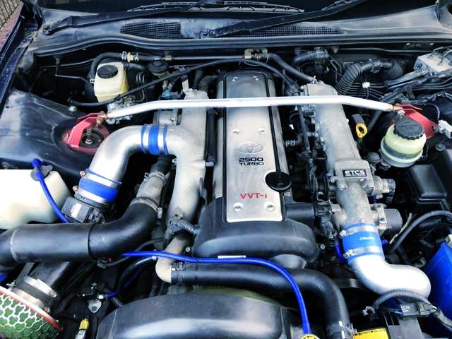 VVTi 1JZ-GTE GT3037PRO TURBO ENGINE.
