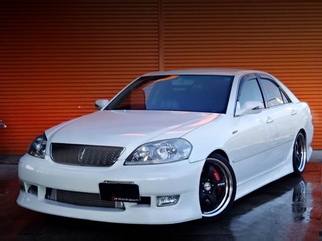 FRONT EXTERIOR OF JZX110 MARK2 iR-V.