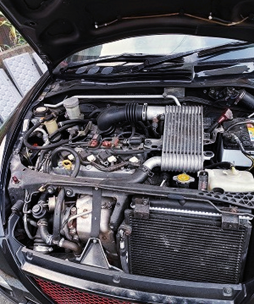 K3-VET 1300cc TURBO ENGINE.
