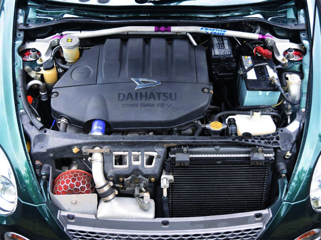 JB-DET TURBO ENGINE With HKS DX30 TURBINE.