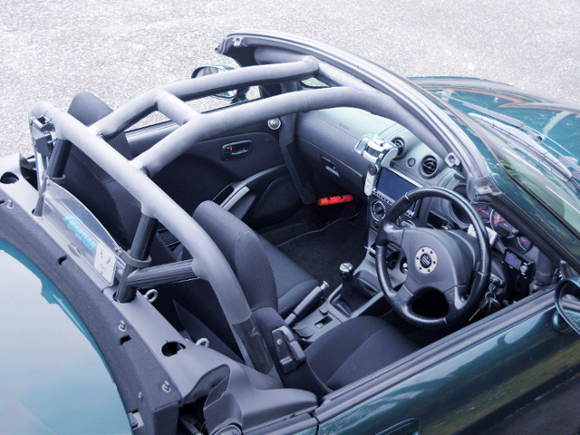 9-POINT ROLL CAGE.