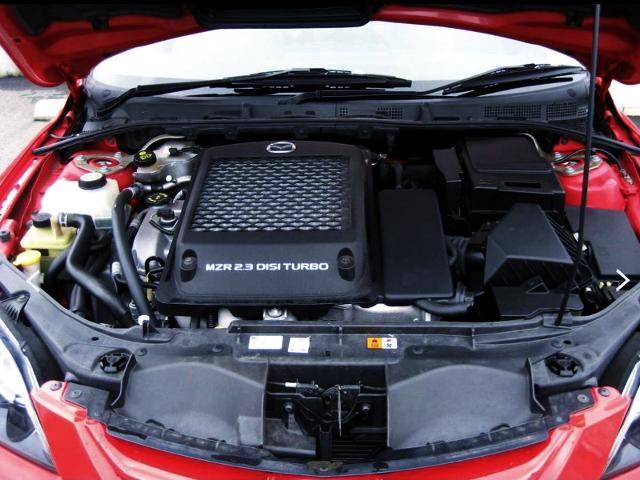 L3-VDT 2.3-liter TURBO ENGINE.