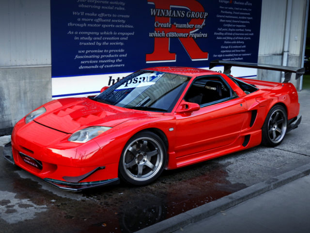 FRONT EXTERIOR OF NA1 NSX ROUTE KS WIDEBODY.