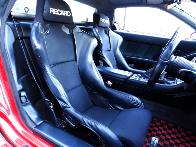 RECARO FULL BUCKET TWO SEATER.