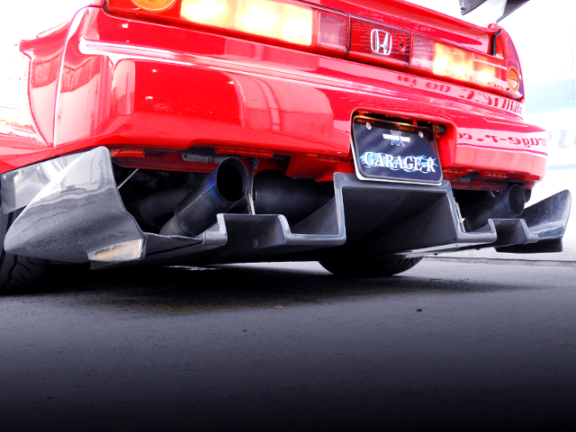 EXHAUST MUFFLER OF NA1 NSX.