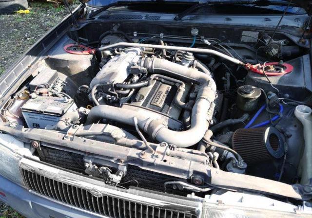 RB20DET TURBO ENGINE.