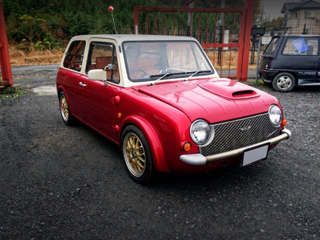 FRONT EXTERIOR OF PA10 NISSAN PAO.