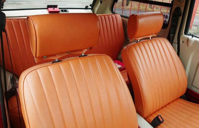 INTERIOR SEATS OF PK10 PAO.