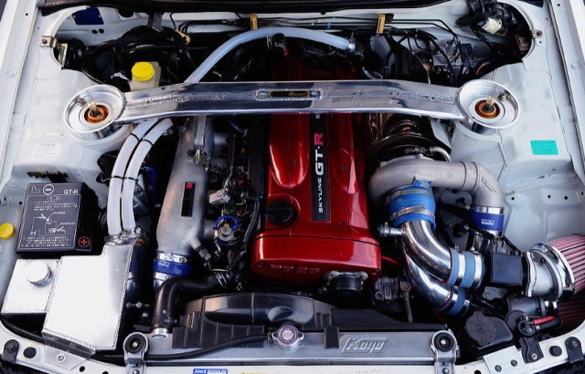 RB26 HEAD With NISMO RRR BLOCK AND T88-33D SINGLE TURBO.