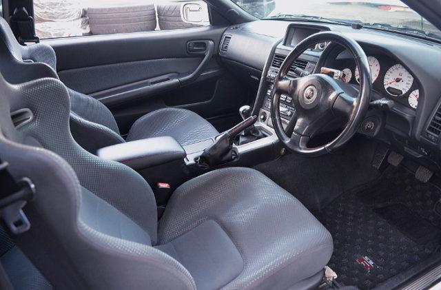 R34 GT-R V-SPEC INTERIOR.