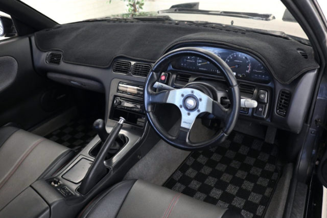 INTERIOR DASHBOARD OF S13 SILVIA.