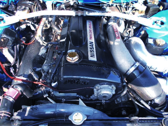 RB26DETT TWINTURBO ENGINE.