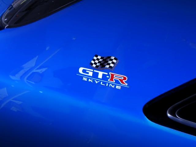 R33 GT-R LM-LIMITED LOGO.