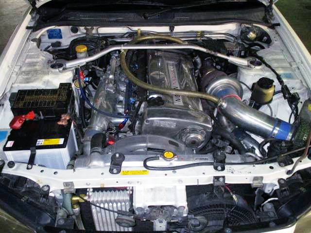 RB26 SINGLE TURBO ENGINE