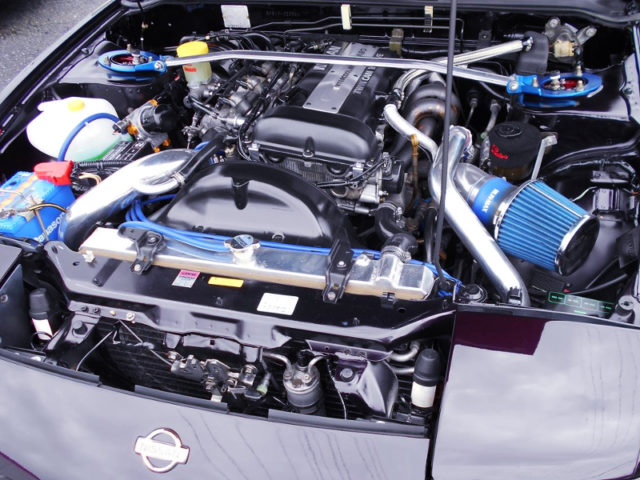 SR20DET TURBO ENGINE With GT-RS TURBINE.