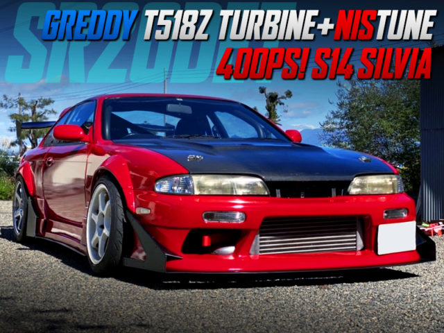 T518Z TURBO and NISTUNE INTO S14 SILVIA WIDEBODY.