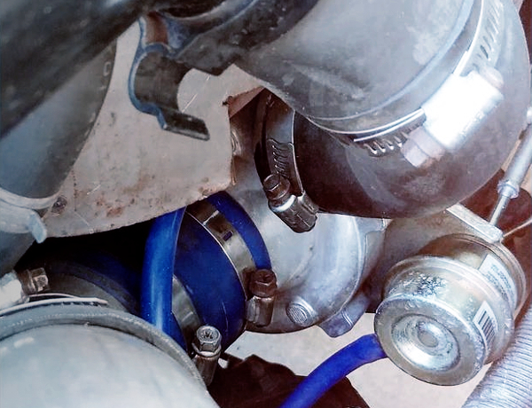 AFTERMARKET TURBO With ACTUATOR.