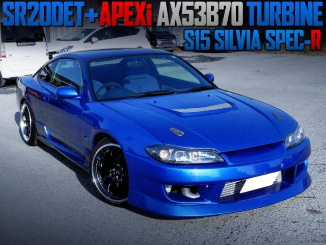 AX53B70 TURBOCHARGED S15 SILVIA SPEC-R.